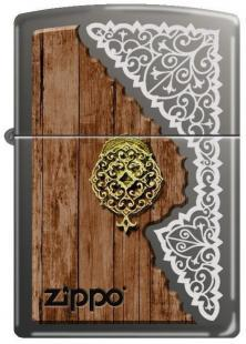 Zapalovač Zippo Wood And Laser Scroll 4596