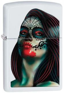 Zapalovač Zippo Day of the Dead Lady Tattoo 26010
