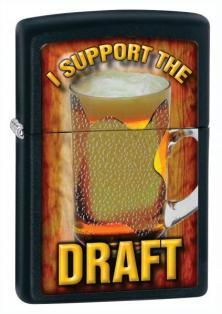 Zapalovač Zippo I Support The Draft 28294