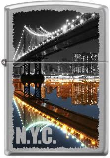 Zapalovač Zippo New York City Manhattan Bridge 7841