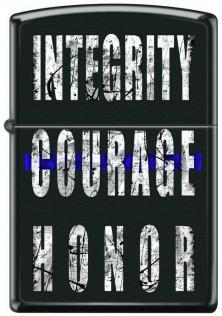 Zapalovač Zippo Integrity Courage Honor 4954