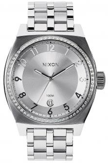 Hodinky Nixon Monopoly All Silver Crystal A325 1874