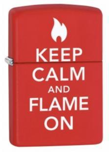 Zapalovač Zippo Keep Calm And Flame On 28671