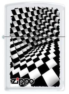 Zapalovač Zippo Dimension - Black and White 6316