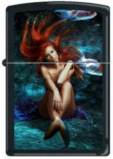 Zapalovač Zippo Red Haired Mermaid 0251