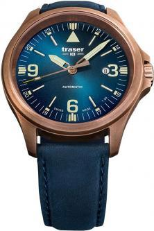 Hodinky Traser P67 Officer Pro Automatic Bronze Blue 108074