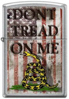 Zapalovač Zippo Dont Tread On Me 0860