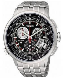 Hodinky Citizen BY0011-50F Chrono Radiocontrolled