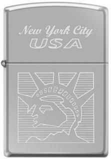 Zapalovač Zippo Statue of Liberty New York 2118