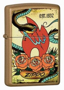 Zapalovač Zippo Tattoo - The Traditions Collection 24043