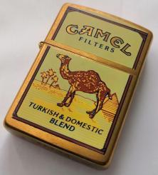 Zapalovač Zippo Camel Turkish Domestic Blend Brass