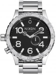 Hodinky Nixon 51-30 Tide High Polish Black A057 487