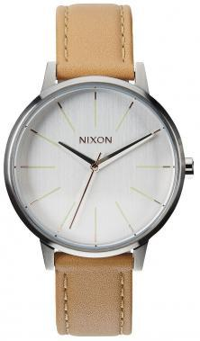 Hodinky Nixon Kensington Leather Natural Silver A108 1603