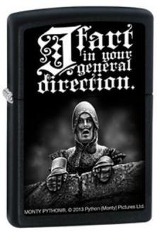 Zapalovač Zippo Monty Python - I Fart In Your General 2753