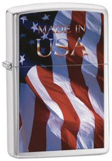 Zapalovač Zippo Made In USA Flag 21521