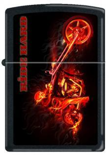 Zapalovač Zippo Night Devil on a Chopper 5570