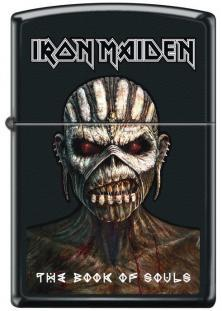 Zapalovač Zippo Iron Maiden The Book of Souls 3344