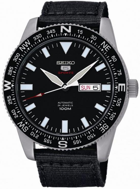 Hodinky Seiko Sports 5 SRP667K1 Automatic Military