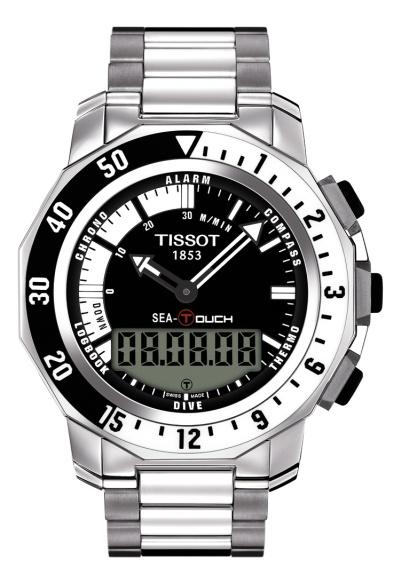 Hodinky Tissot Sea Touch T026.420.11.051.00  -33 %