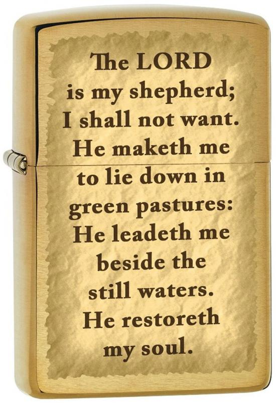 Zapalovač Zippo The Lord is my Shepherd 1545