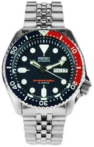 Hodinky Seiko SKX009J2 Diver MADE IN JAPAN